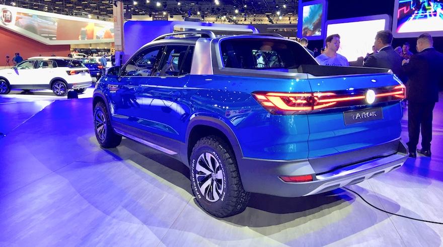 Así es de atrás la Volkswagen Tarok.