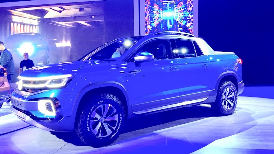 Volkswagen Tarok, la pick up intermedia.