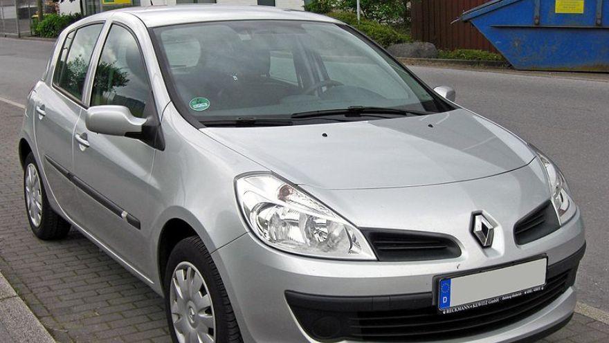 Renault Clio Mio, uno de los autos baratos entre los usados.