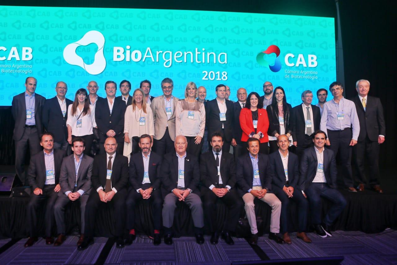 Directivos de CAB en BioArgentina