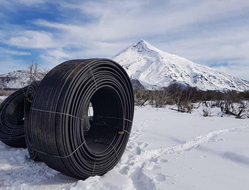 Silica Networks es responsable de varios de los cruces de fibra óptica que atraviesan Los Andes