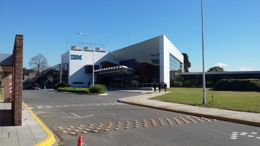 IBM tiene sus principales instalaciones en Martínez, en el norte del Gran Buenos Aires.