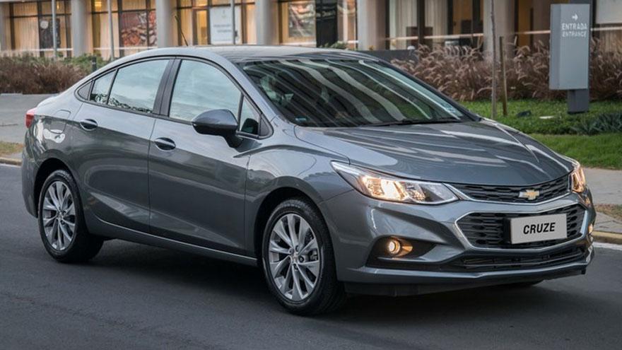 Chevrolet Cruze, el sedán mediano con más tecnología.