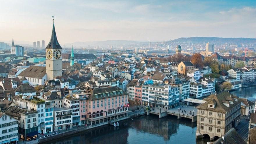Zurich, la ciudad más cara del mundo en 2020.