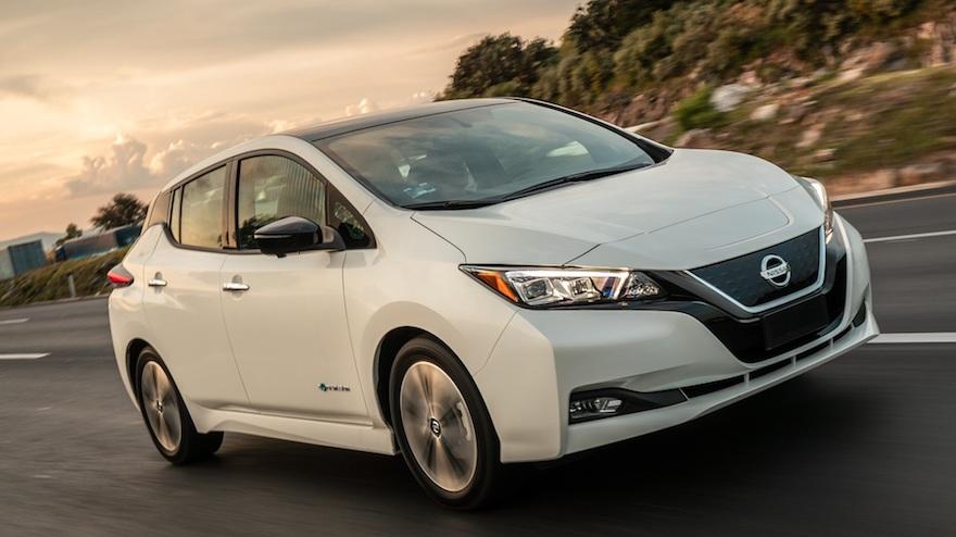 Autos eléctricos en Argentina: el primero de pasajeros, el Nissan Leaf.