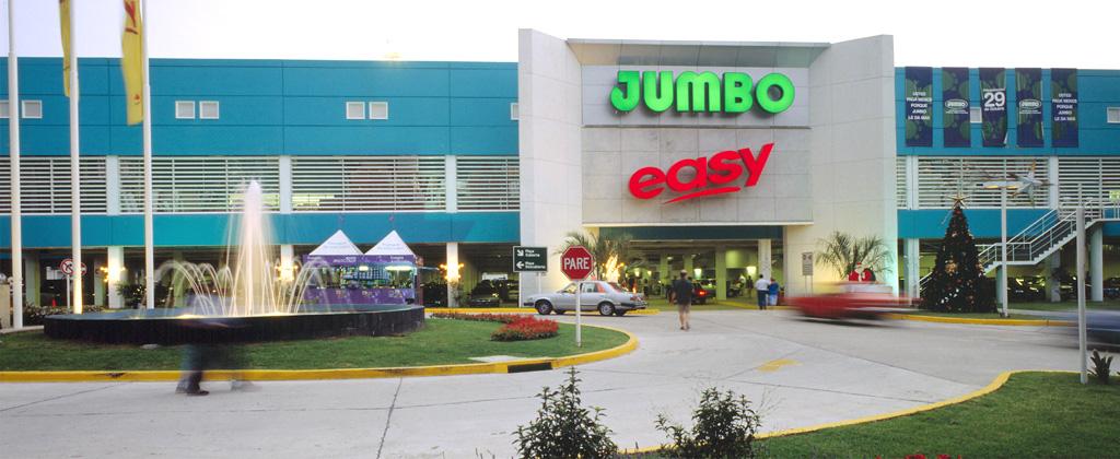 La cadena Jumbo, una de las propiedades del grupo en Argentina.