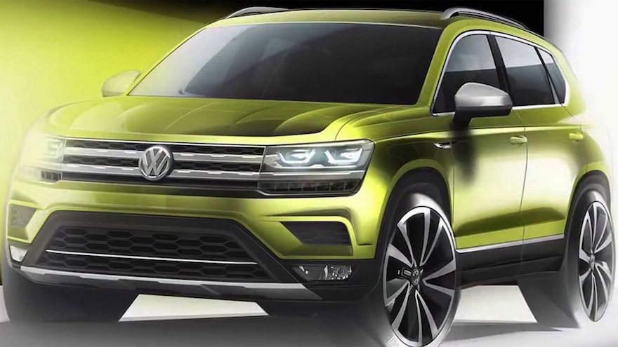 Volkswagen Tarek, se fabricará en la Argentina.