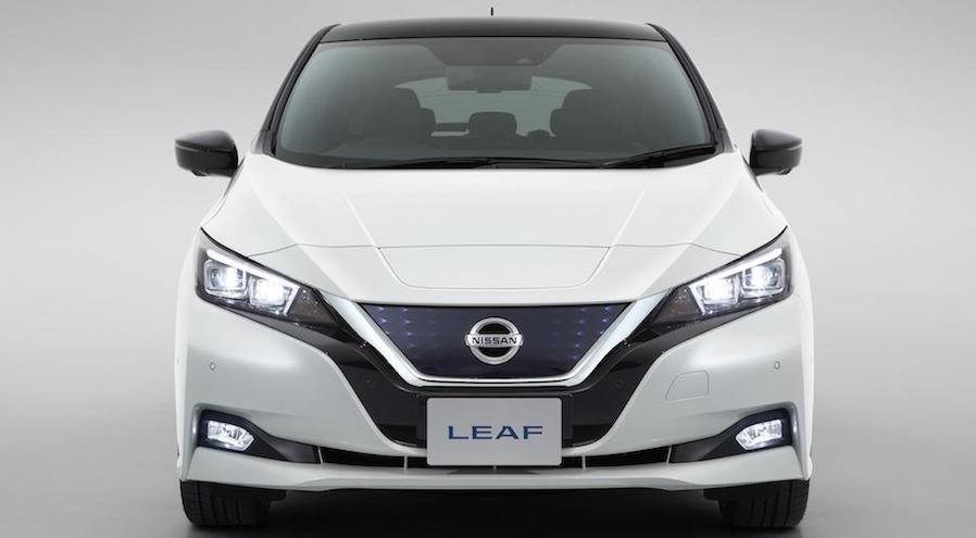 Nissan Leaf, el primer auto eléctrico de pasajeros en la Argentina.