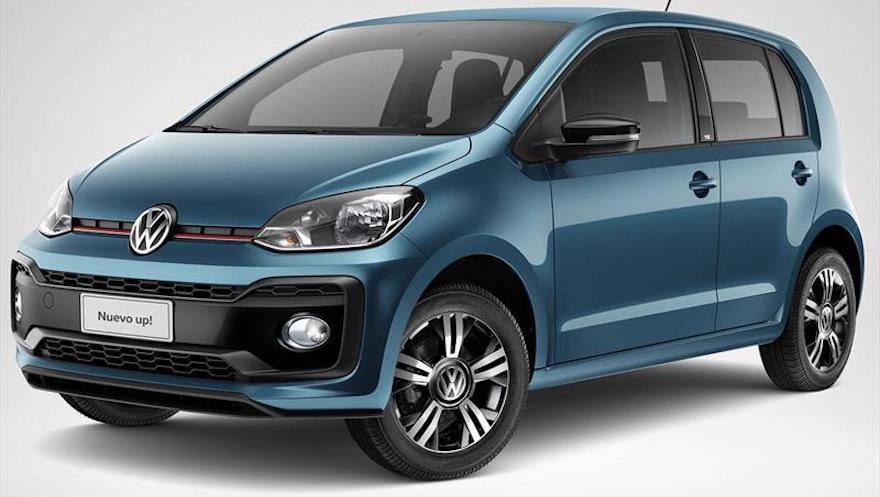 Volkswagen Up completa el listado de los autos más económicos.