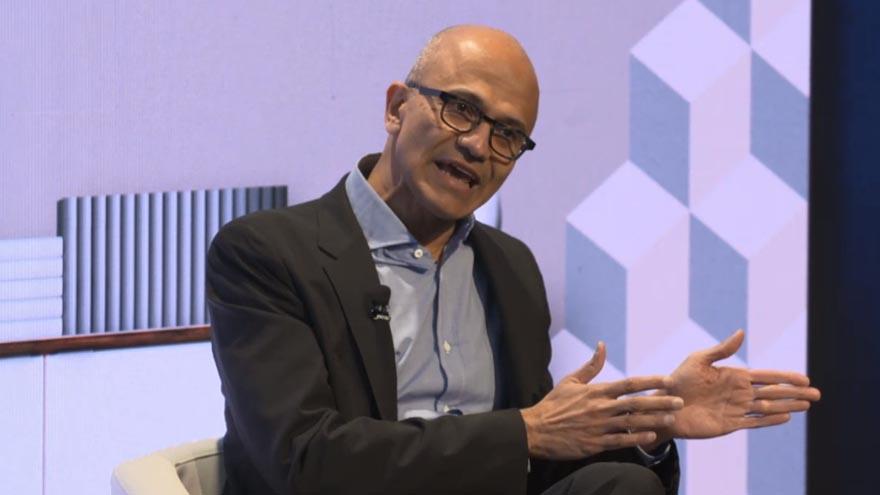 El CEO de Microsoft