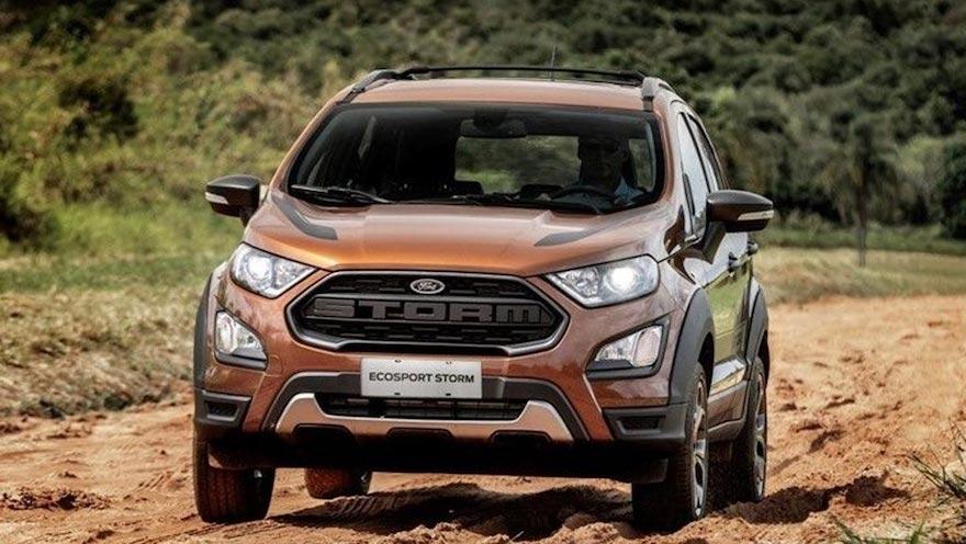 Ford Ecosport, segundo en el ranking de SUV de 2020.