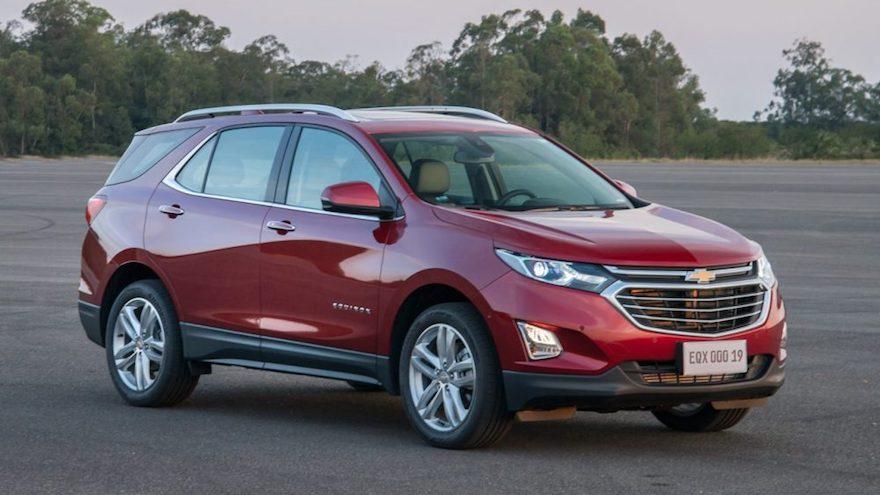 Chevrolet Equinox, con valores que pasan de los $2 millones a los $4 millones por el impuesto.
