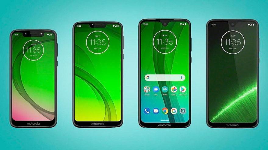 Teléfonos móviles de Motorola