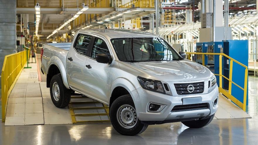 Nissan Frontier, otra de las pick ups fabricada en la Argentina.