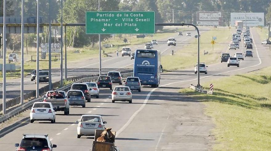 Ruta 2, donde se generan muchas infracciones en vacaciones.