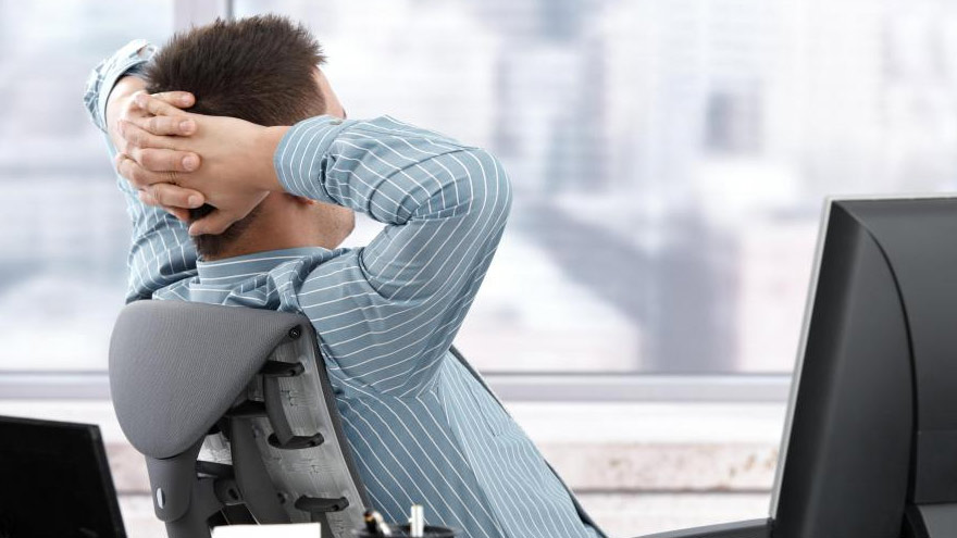 Tener una actitud cómoda y relajada no favorece a ser emprendedor