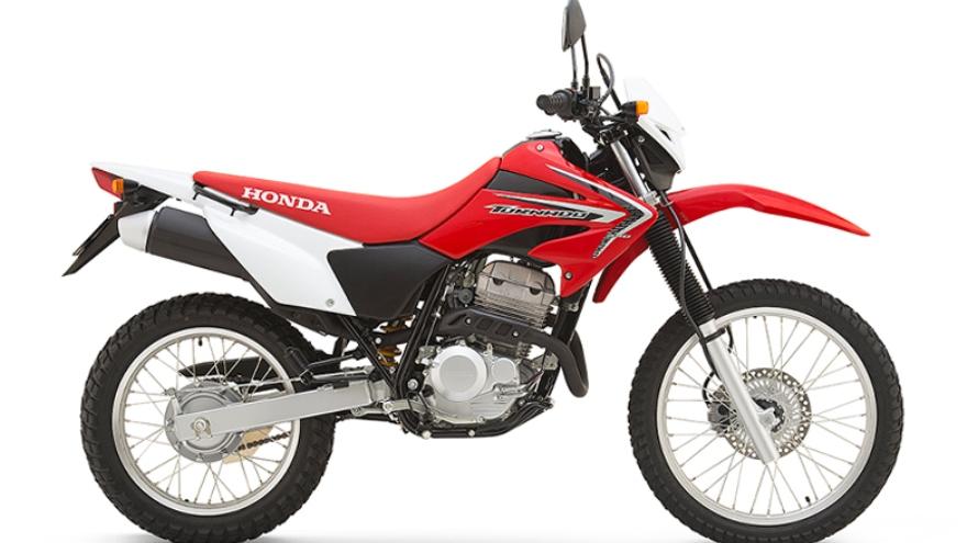 Honda, una de las de mayor cc mas vendidas.