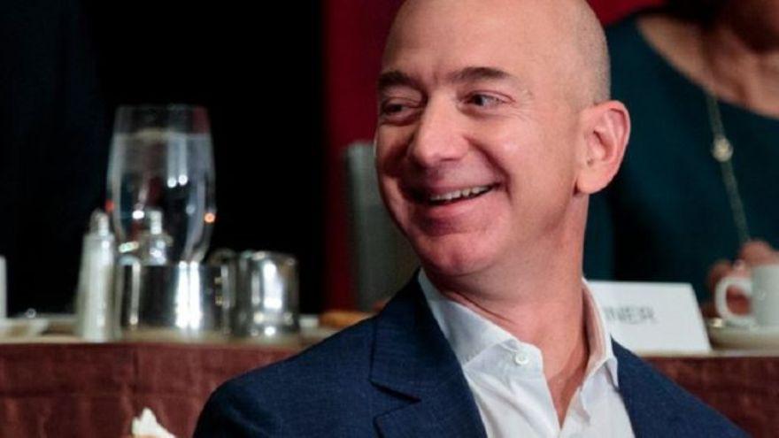 Jeff Bezos una vez más queda al tope de un ranking de empresas, por el valor de marca de Amazon