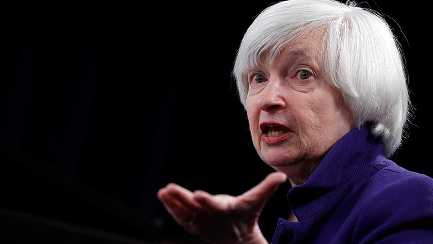 Yellen fue la primera y por ahora la única mujer con el cargo de titular de la Fed