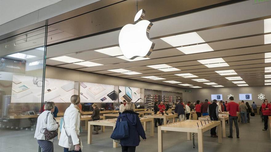 El cedear de Apple subió casi 28% en agosto