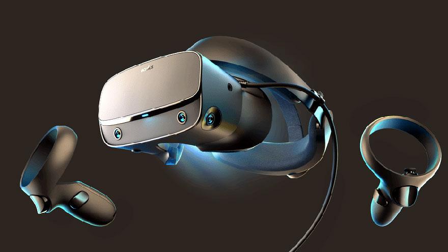 Las gafas Oculus de realidad virtual.