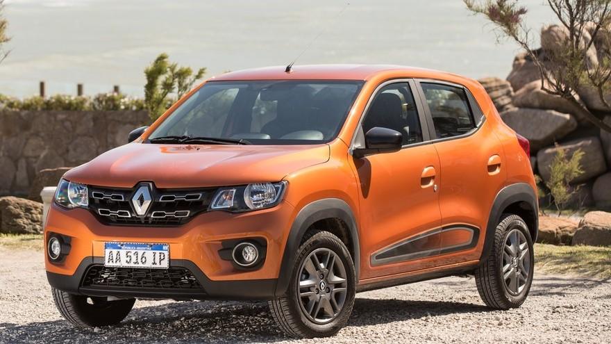 Renault Kwid, con fuerte rebajas para ser el más barato.