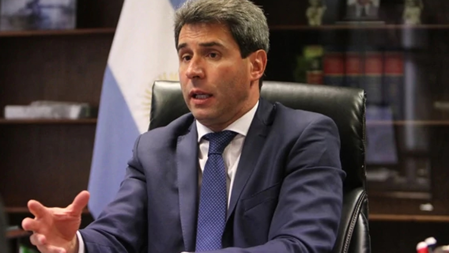 Sergio Uñac, gobernador de San Juan.