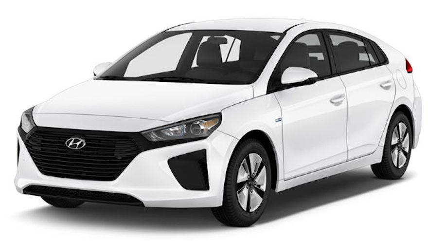 Ioniq, el coche de Hyundai con motor híbrido.