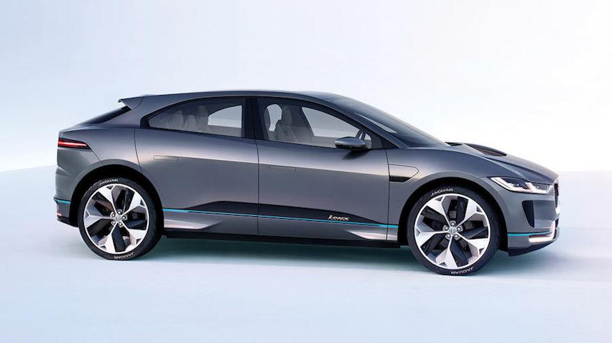 Autos eléctricos de ensueño: el Jaguar I-Pace.
