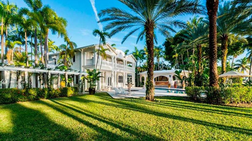 Gloria Estefan vende su mansión en Miami por USD 35 millones: las fotos