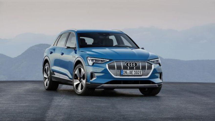 Audi e-tron, entre los autos eléctricos de la firma de los anillos.