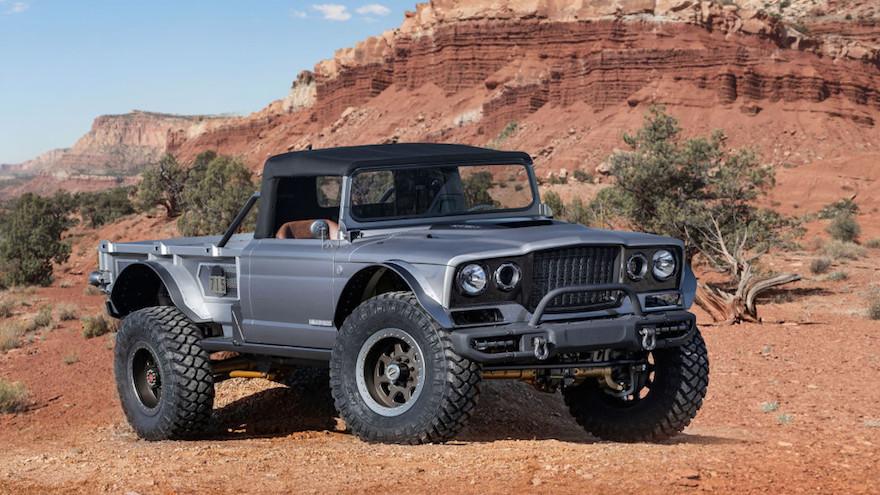 Jeep y su historia en el mundo de las pick ups.