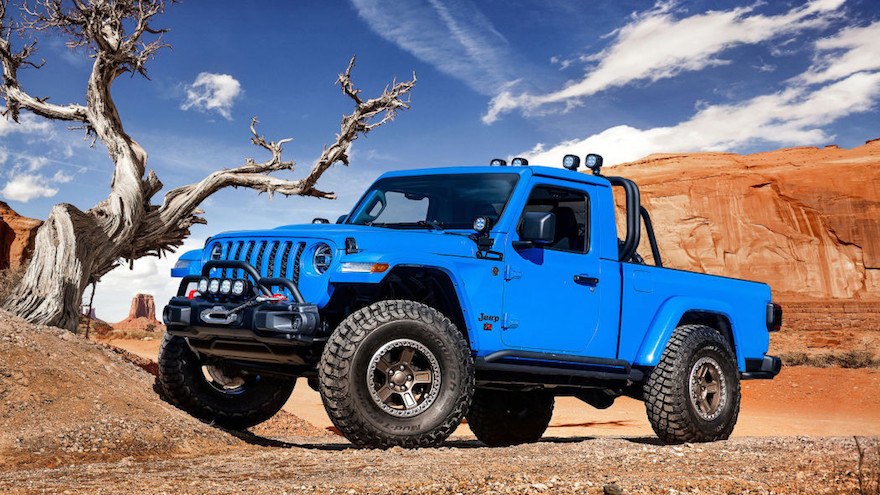 Jeep Gladiator, la pick up que se viene.