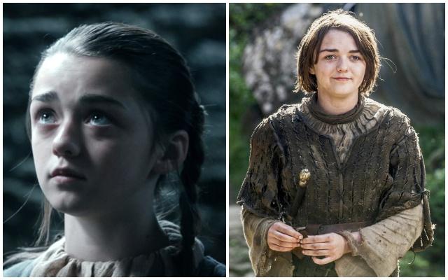 Game Of Thrones Arya La Niña Stark Y Su Escena De Sexo Que Nadie