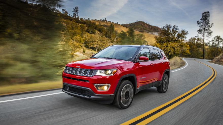 Jeep Compass, completa el top ten de los SUV.