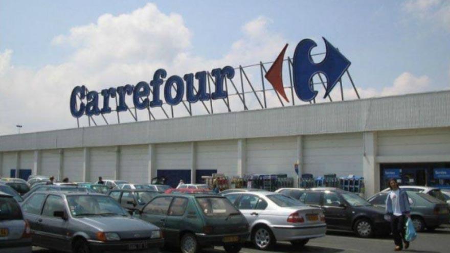 Las acciones de Carrefour subieron casi un 14 por ciento en las operaciones matutinas en París el miércoles