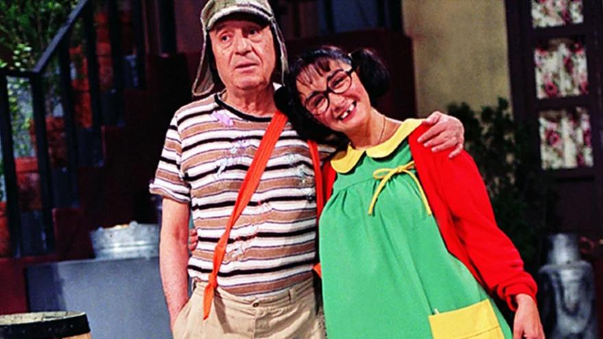 El Chavo y la Chilindrina: entretuvieron a varias generaciones de niños.