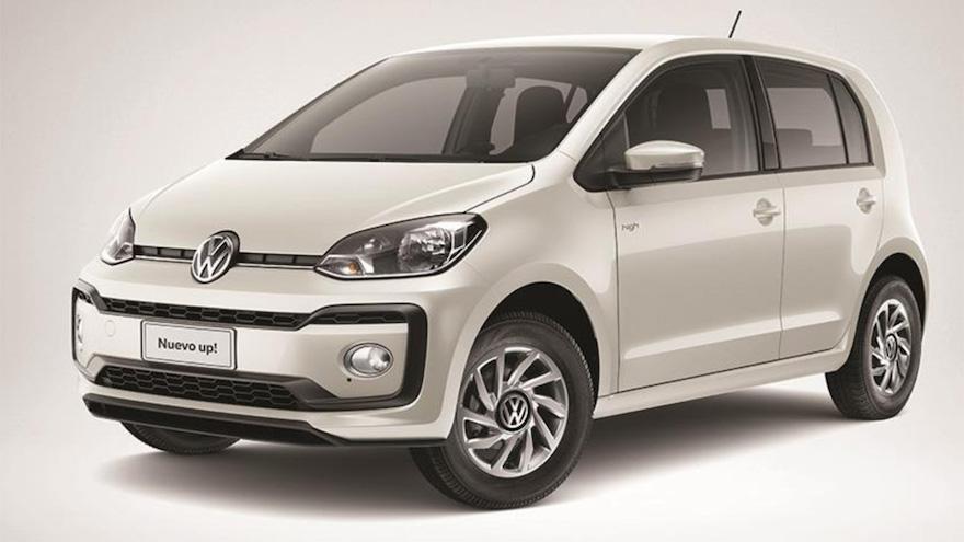 Volkswagen Up, otro de los autos baratos.