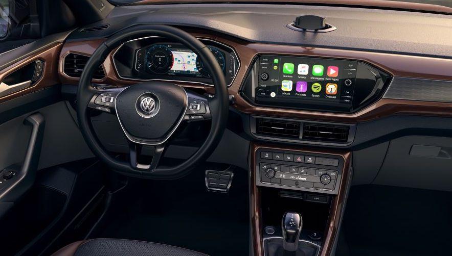 Volkswagen T-Cross, así es por dentro.