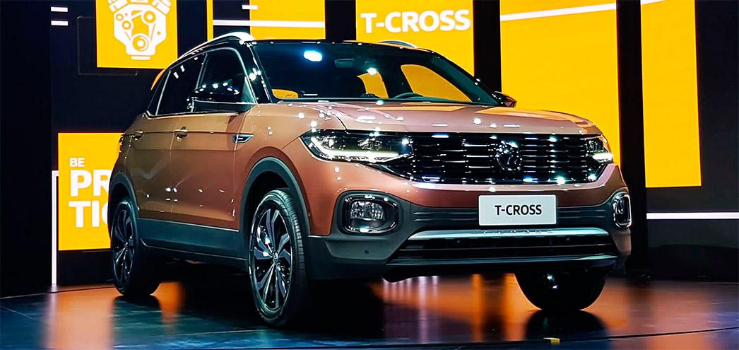 Volkswagen T-Cross, el más vendido de mayo.