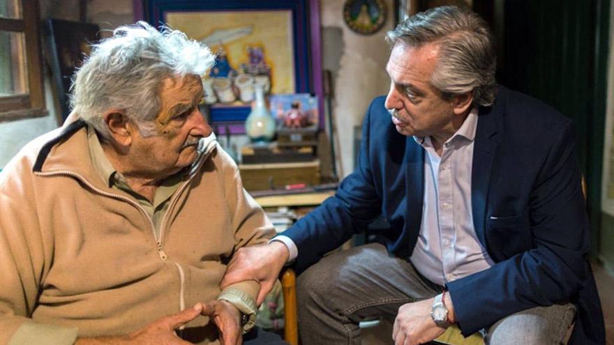 Mujica remarca que entre Argentina y Ururguay existe una relación