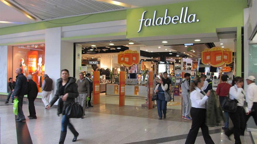 Falabella, una de las empresas sancionadas por el Gobierno.