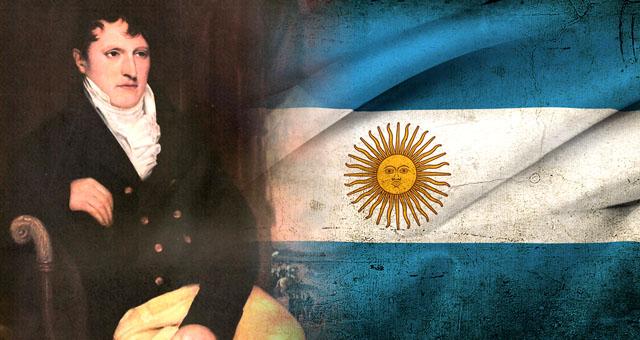 Se recuerda al General Manuel Belgrano el Día de la Bandera argentina