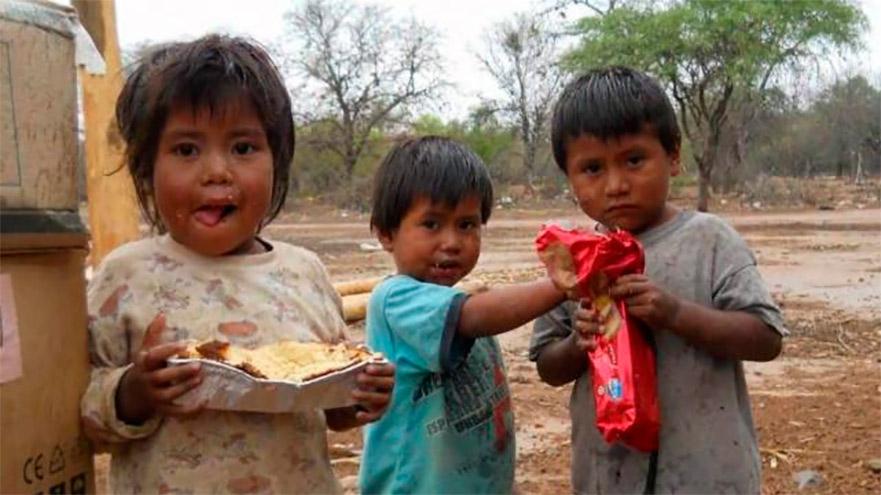La pobreza en la Argentina se concentra principalmente en la infancia, de acuerdo con proyecciones de Unicef
