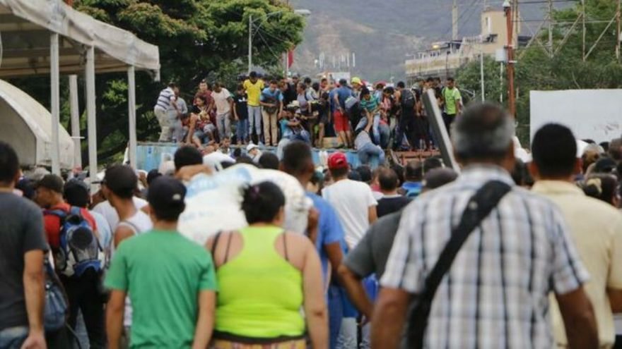 La crisis venezolana generó la mayor ola migratoria de América latina.
