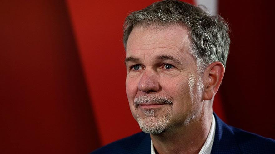 ReedHastings, el CEO de Netflix cuya oferta de venta fue rechazada por Blockbuster.