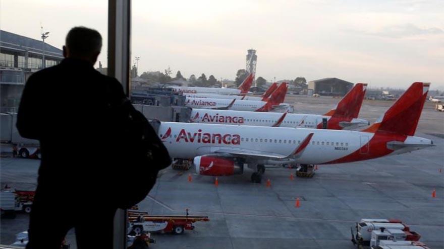 La aerolínea colombiana Avianca se acogió al proceso de bancarrota en EE.UU.