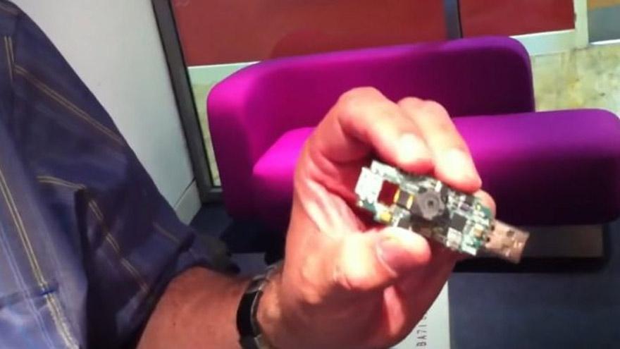 l prototipo de las Pi tenía el tamaño de una memoria USB.