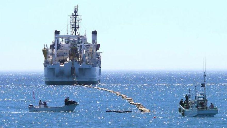 En Las Tonitas se encuentra el punto de amarre de los cables submarinos que conectan a la Argentina con el mundo