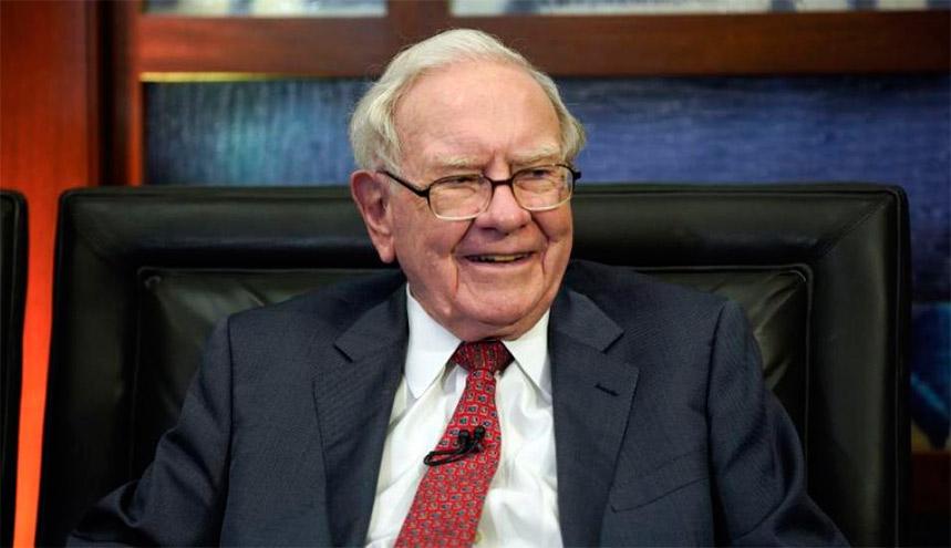 Buffett, uno de los hombres más ricos del mundo.